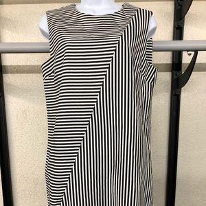 Kate Spade Saturday Dress Crosswalk Stripe, size M